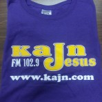 KAJN T- Shirt Purple & Gold